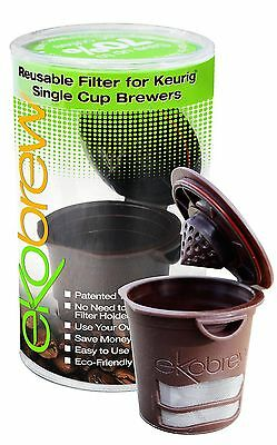 Ekobrew Refillable K-cup for Keurig 1.0 Brewers Brown New