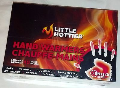 Little Hotties Air-Activated Hand Warmers with 8-Hours of Pure Heat (40 P... New
