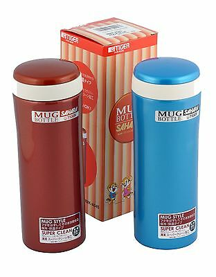 Tiger MMK-A045 (0.45L) AQ Stainless Steel Thermal Bottle 0.45Litre (Aqua ... New