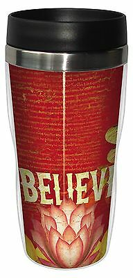 Tree-Free Greetings 25548 Angi and Silas Dragonfly Believe Sip 'N Go Stai... New