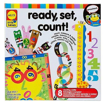 ALEX Toys - Early Learning Ready Set Count - Little Hands 1464 New