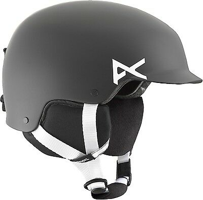 Anon Youth Scout Helmet Black Small New