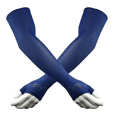 The Elixir Scorpion UV Sun Protective Compression Arm Sleeves Hand Cover ... New