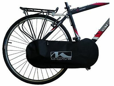 M-Wave Bicycle Chain Guard Cover (Black) New