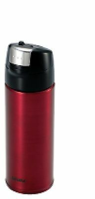 "Tiger MMQ-A035 (0.35L) R ""One Touch"" Stainless Steel Thermal Bottle 0.35L... New"