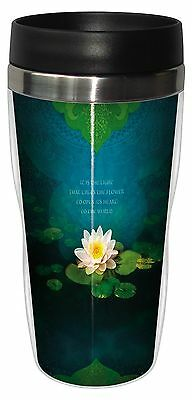 Tree-Free Greetings 25555 Angi and Silas Bouquet Of Light Sip 'N Go Stain... New