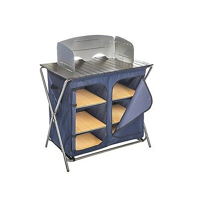 Kamp-Rite Kwik Pantry with Cook Table New