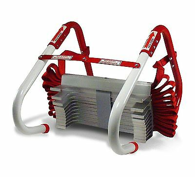 Kidde 468094 Three-Story Fire Escape Ladder with Anti-Slip Rungs 25-Foot New