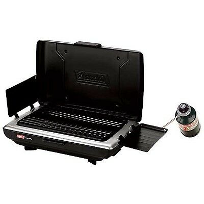 Coleman PerfectFlow Propane Camp Grill New