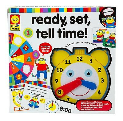 Alex Toys Little Hands Ready Set Tell Time New
