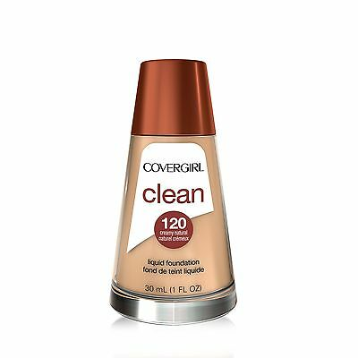 Covergirl Clean Liquid Makeup Creamy Natural Neutral 120 30ml- Packaging ... New