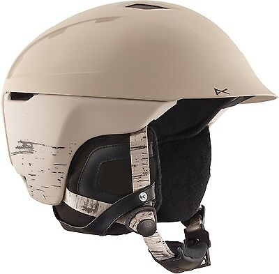 Womens Anon Galena Helmet Birch White Medium New