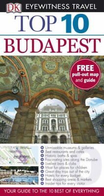 DK Eyewitness Top 10 Travel Guide: Budapest, Turp, Craig Paperback Book The