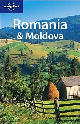 Romania and Moldova (Lonely Planet), Kokker, Steve Paperback Book The Cheap Fast