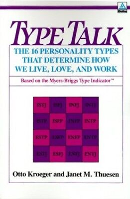 Type Talk: The 16 Personality Types That Deter... by Thuesen, Janet M. Paperback