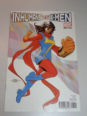 Inhumans Vs X-Men #3 Marvel Comics Variant