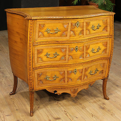 Dresser dresser furniture cashed three drawers paint antique style 900 drawers