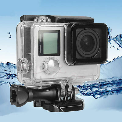 For GoPro Hero 3 4 Waterproof Underwater Case Diving Housing Protective Cover