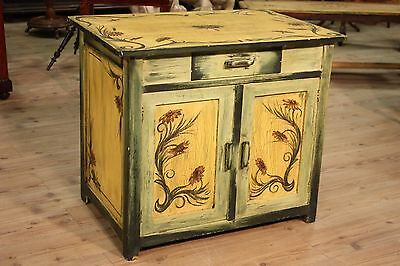 Cupboard hand painted wooden furniture Liberty decoration antique style 900 XX