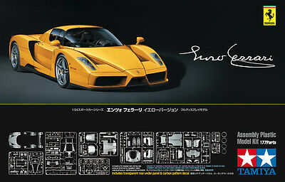 Tamiya 24301 1/24 ENZO FERRARI GIALLO MODENA 177Parts Limited Ver. from Japan