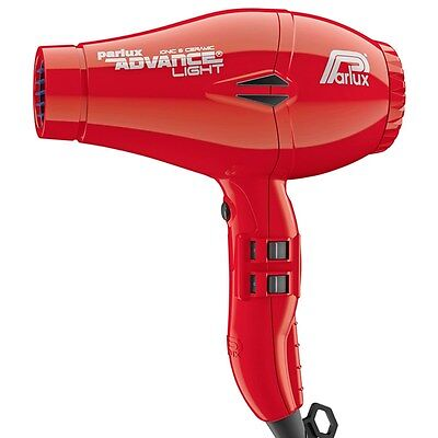 Parlux Advance Light Ionic and Ceramic Hair Dryer Red