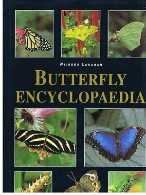 Butterfly Encyclopedia by Landman, W Paperback Book The Cheap Fast Free Post