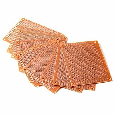 Pixnor 10pcs 7x9cm PCB Blank Circuit Board Prototype Paper Solder Circuit
