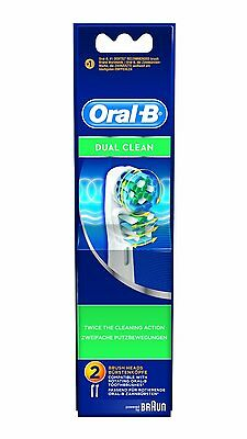 Braun Oral B Dual Clean Replacement Toothbrush Heads