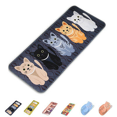 Cartoon Cat Welcome Floor Mats Bathroom Room Kitchen Rug Non Slip Carpets