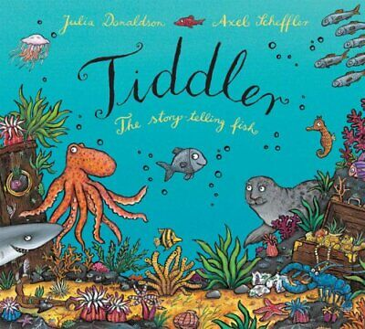 Tiddler, Donaldson, Julia Hardback Book The Cheap Fast Free Post
