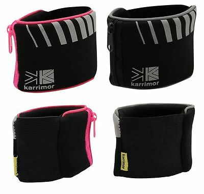 Reflective Running/Jogging/Cycling Zipped Key/Valuables Wrist Band/Pocket/Wallet