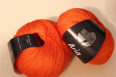 Wolle Kreativ! Lana Grossa - Aria - Fb. 18 orange 50 g