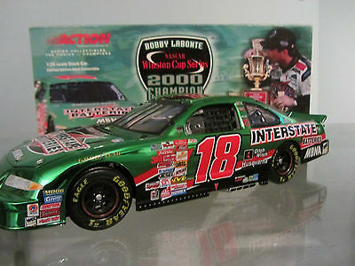 Bobby LaBonte #18 Interstate Batteries Championship 1/24 Scale NASCAR Diecast