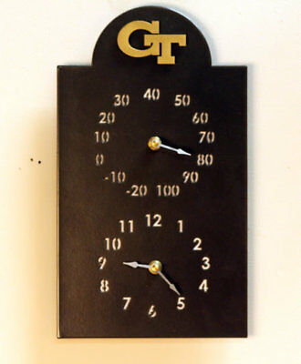 Henson Metal Works NACC Outdoor Thermometer and Clock