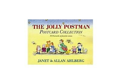 The Jolly Postman Postcard Book by Ahlberg, Allan Postcard book or pack Book The