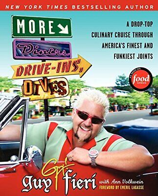 More Diners, Drive-ins and Dives: A Drop-Top Culin... by Volkwein, Ann Paperback