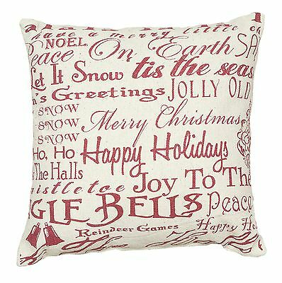 """Merry Christmas Pillow, 15"""", Primitives by Kathy 21288"""