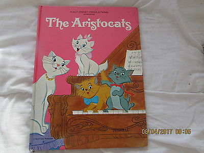 Walt Disney's   The   Aristocats    Annual  1971 Very Good For  Age