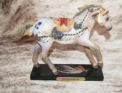 TRAIL OF PAINTED PONIES Gift From The Sky 1E/2487~Finding Fallen Feathers~