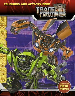 Transformers 2 - Revenge of the Fallen Colouring and Activity ... Paperback Book
