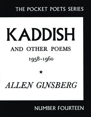Kaddish and Other Poems (Pocket Poets) by Ginsberg, Allen Paperback Book The