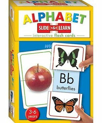 Alphabet (Slide and Learn Flash Cards), Hinkler Books PTY Ltd Book The Cheap