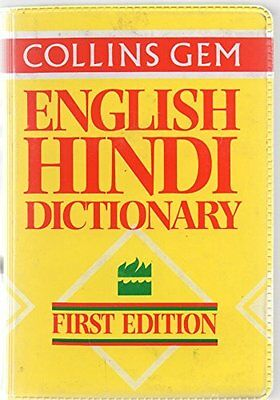 Collins Gem Hindi Dictionary (Collins Gems), Pandey, D P Paperback Book The