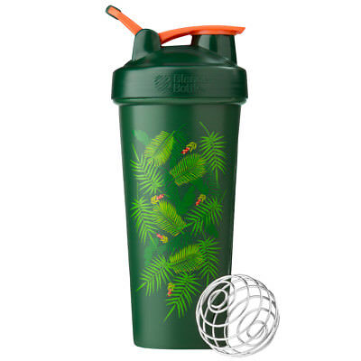 Blender Bottle Special Edition 28 oz. Shaker with Loop Top - Palm