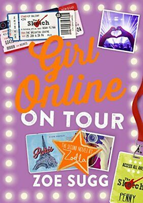 Girl Online: On Tour by Sugg, Zoe (Zoella) Book The Cheap Fast Free Post