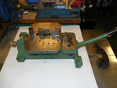 "J A RICHARDS CO. MULTIFORM BENDER HDSB WITH LOTS OF 3"" TOOLING! parker bender"