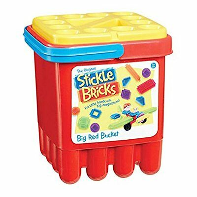 Stickle Bricks TCK01000 Big Red Bucket