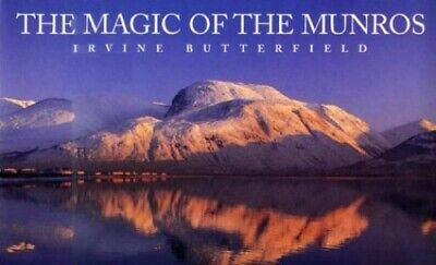 The Magic of the Munros by Butterfield, Irvine Hardback Book The Cheap Fast Free