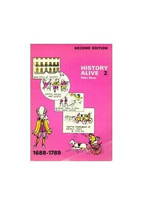 History Alive: 1688-1789 Bk. 2, Moss, Peter Paperback Book The Cheap Fast Free