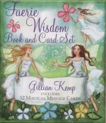 Faerie Wisdom: Book and Card Set - Includes 52 Magic..., Kemp, Gillian Paperback